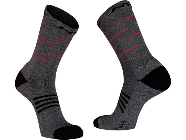Northwave Extreme Pro Hoge Sokken Heren, dark gray/red